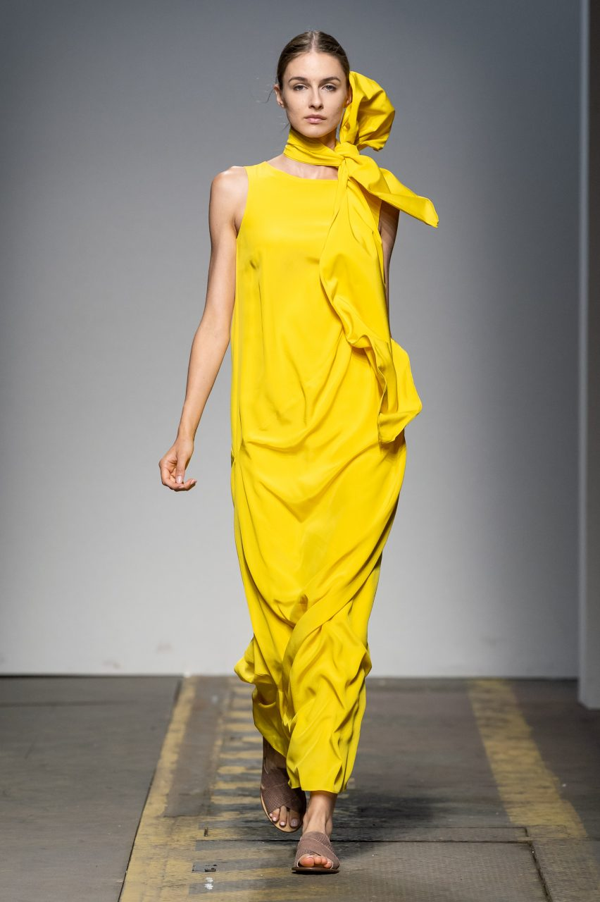 LOOK 6. BAV TAILOR_WION 2019_SHAKTI LEAF GOWN_yellow sun
